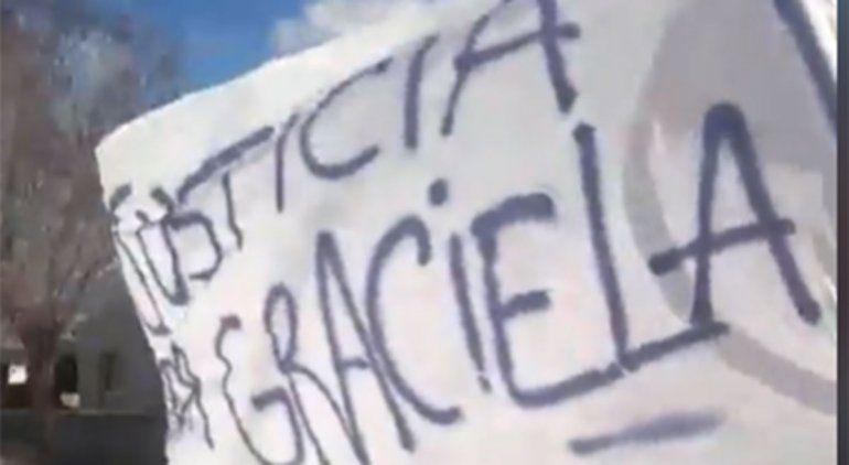Los Menucos marchó por la muerte de Graciela