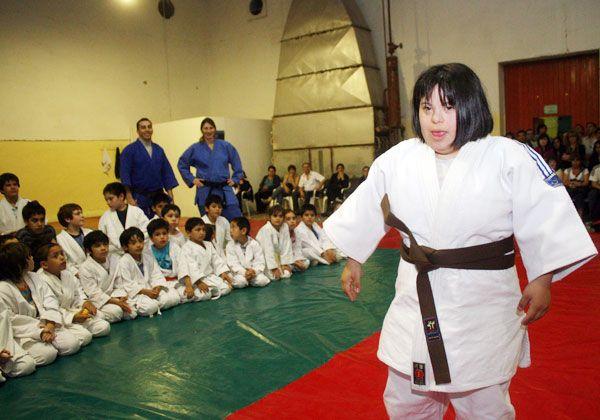 Barnes busca su cinturón negro de judo