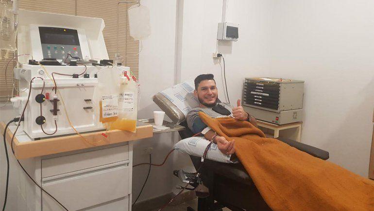 Un paciente cipoleño recuperado de Covid-19 se convirtió en el primer donante de plasma