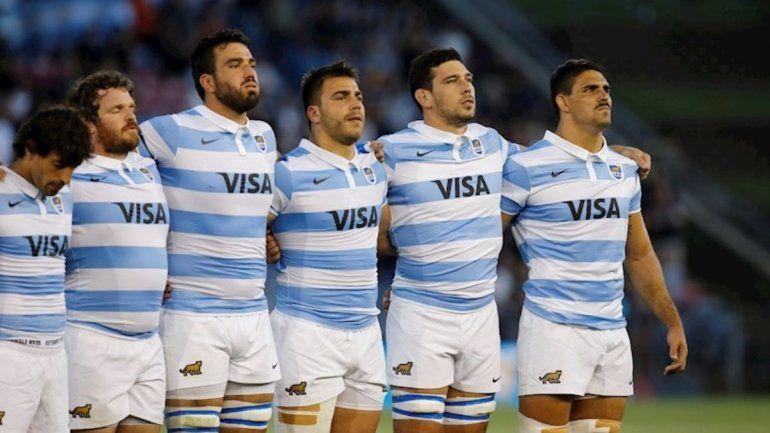 El capitán Matera y Los Pumas
