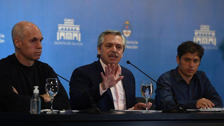 Alberto anunciará hoy la extensión de la cuarentena hasta el 24 de mayo