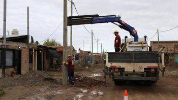 en el obrero reclaman que se habilite la red electrica