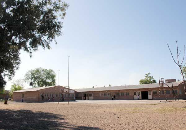 Promueven la parquización de una escuela de Oro