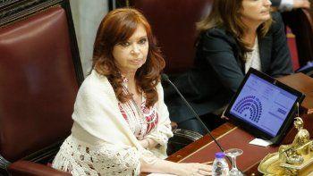 Cristina Kirchner fue sobreseída en una causa de los cuadernos