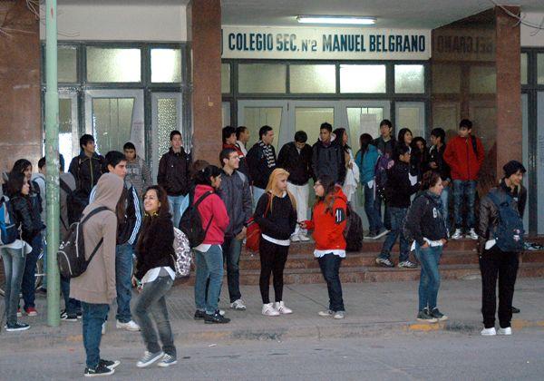 Protesta de estudiantes cipoleños