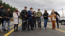 Se inauguró el asfalto del Circuito Mallín Ahogado