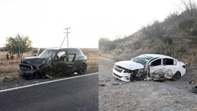 Una familia de Regina sufrió un brutal accidente sobre la Ruta 22