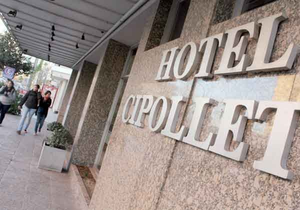 Los hoteles cipoleños se vieron desbordados