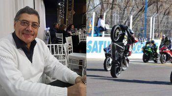 la muerte por covid de un campeon que enluta al motociclismo