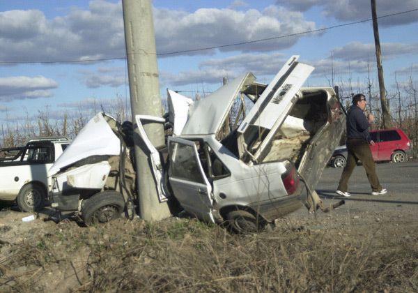 Accidente de tránsito fatal en Guerrico