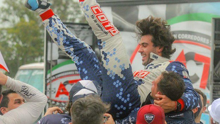 Temporada consagratoria de Urcera en el automovilismo