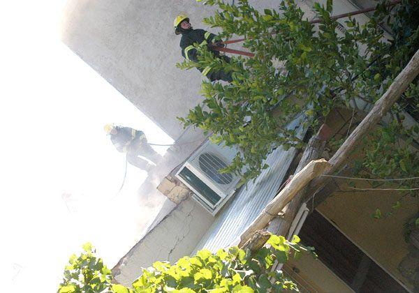 Incendio destruyó una casa en el Almirante Brown