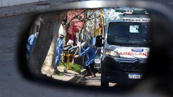 el covid no afloja en neuquen: 599 nuevos casos y 13 muertos