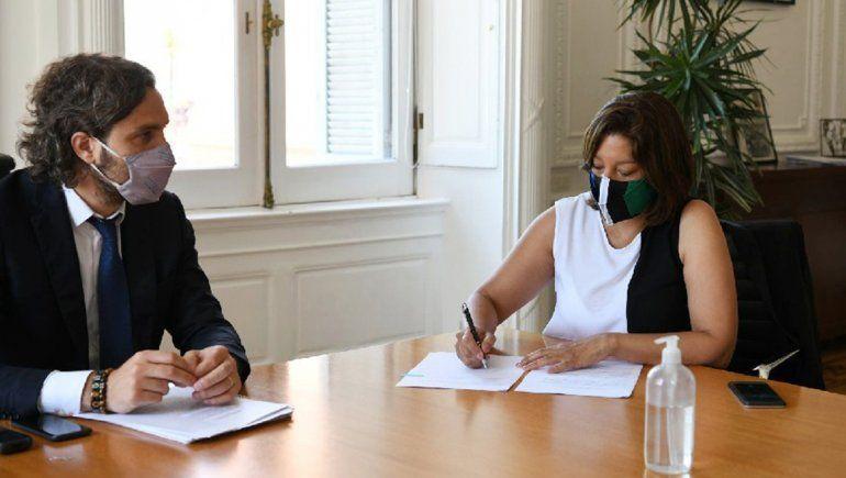 Nación brindará asistencia financiera a Río Negro