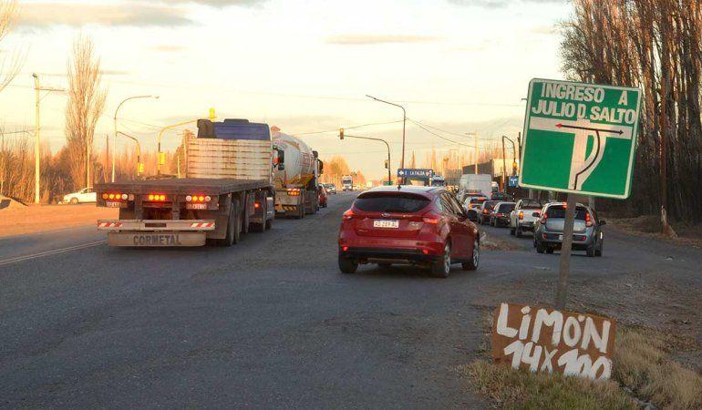 Di Tella reafirma su propuesta de transformar la Ruta 22 en una avenida urbana