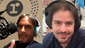 Gustavo López y Mariano Closs, ahora son amigos.