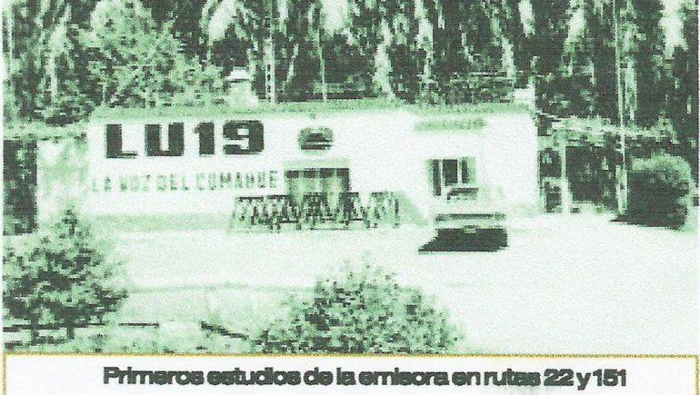 Lu 19 su emisora en la Ruta 151.