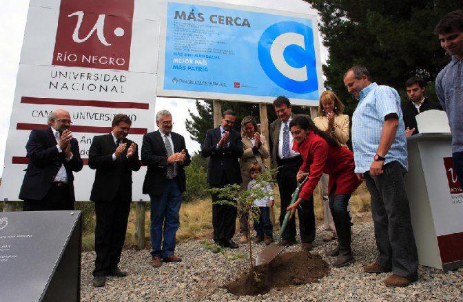 Ya está en marcha la obra del campus de la UNRN en Bariloche