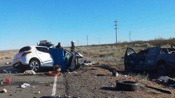 tres muertos en un choque frontal en la ruta 237