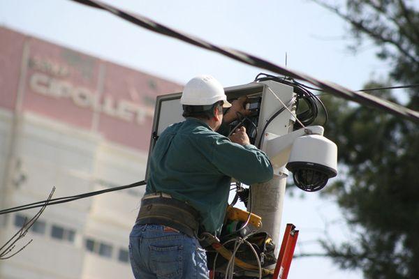 Se presentó la central de video-vigilancia