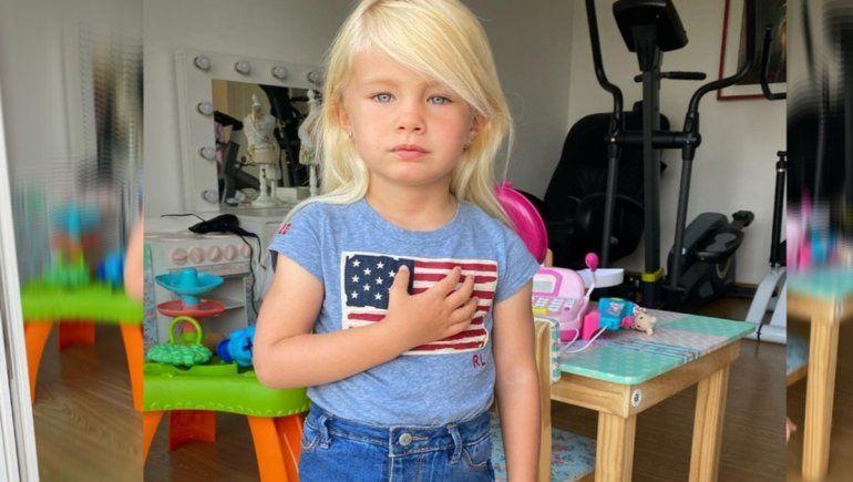 Polémica: Luciana Salazar hizo que su hija celebrara el triunfo de Biden