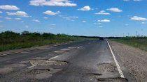 diputados piden que arreglen la destruida ruta 151