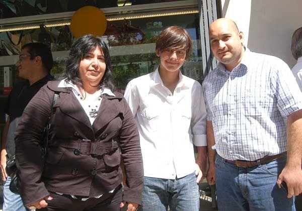 El joven Agustín Sohn quiere ampliar su campaña contra la violencia escolar