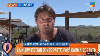 La entrevista ¿antivacuna? de Damián de Santo que armó lío en Twitter