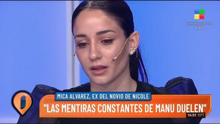 La ex de Manu Urcera no le da más de dos meses con Nicole