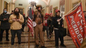 partidarios de trump ingresaron al congreso en un dia clave