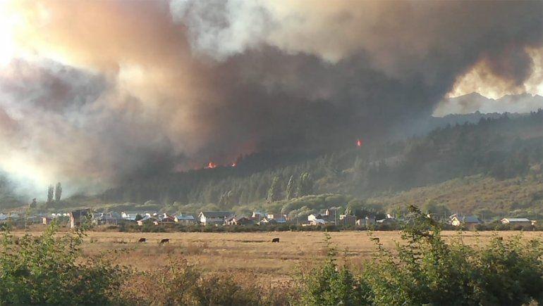 Se quemó en los incendios y piden un avión sanitario para trasladarlo