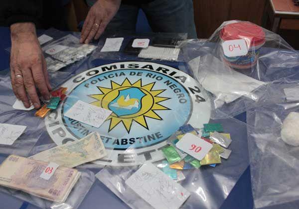 Secuestraron cocaína valuada en 110 mil pesos