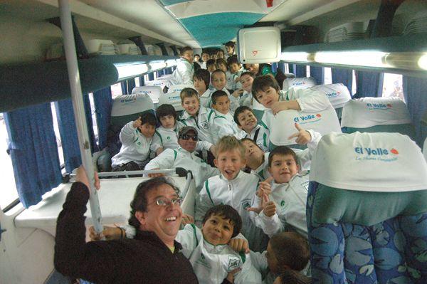 Contingente del club Marabunta viajó a Mendoza
