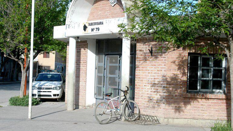 Los violentos terminaron presos en la subcomisaría 79.