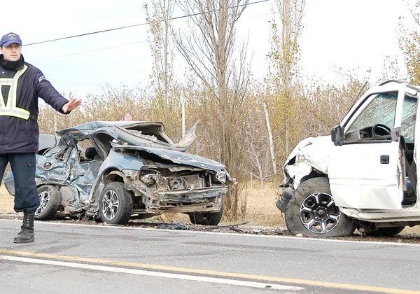 Un cipoleño murió en triple choque en la Ruta 151
