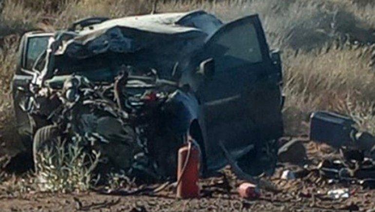 Choque frontal en Ruta 237: hay tres heridos de gravedad