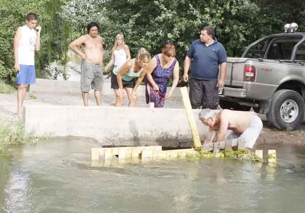 Inundados por represa