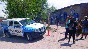 Personal policial trabajaba en Cordón Colón tras el hallazgo del cadáver.