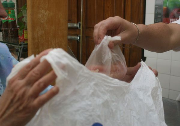No a las bolsas de polietileno en Cinco Saltos