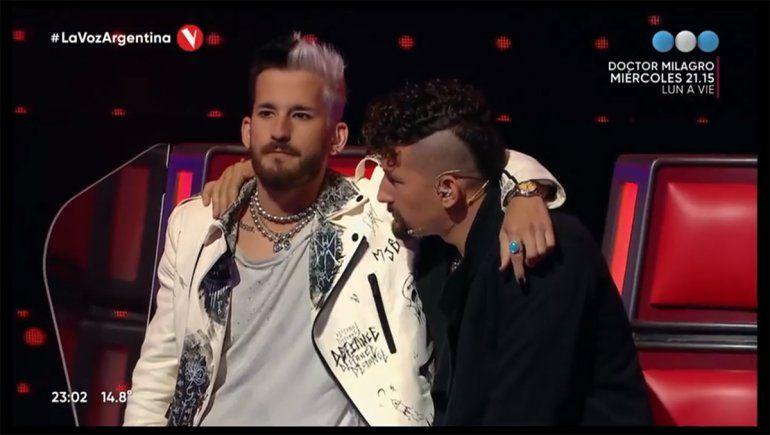 La Voz Argentina: Mau y Ricky se quebraron tras eliminar a un participante
