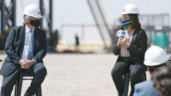 carreras acompano al presidente en el lanzamiento del plan gas