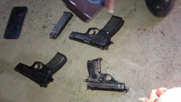 La Policía destaca el gran número de armas secuestradas