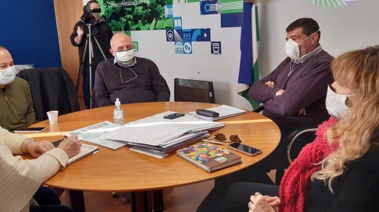Representantes del Frente de Todos se reunieron con Di Tella