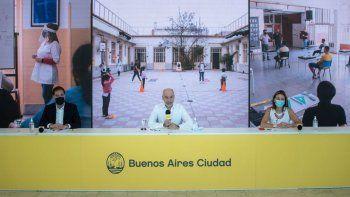 CABA: polémica por el anuncio del regreso de las clases presenciales