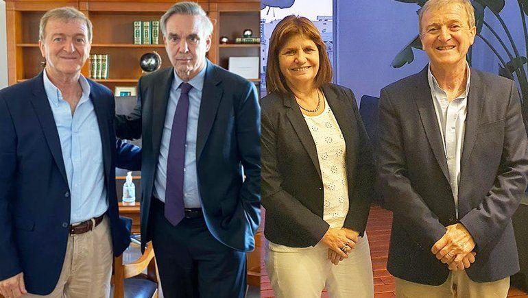 Tortoriello viajó a Buenos Aires y se reunió con Bullrich y Pichetto