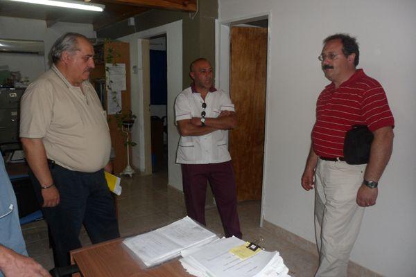 El Ministro de Salud visitó el Hospital de Fernández Oro