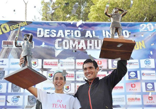 Gustavo Reyes, el mejor en el Desafío al Indio Comahue