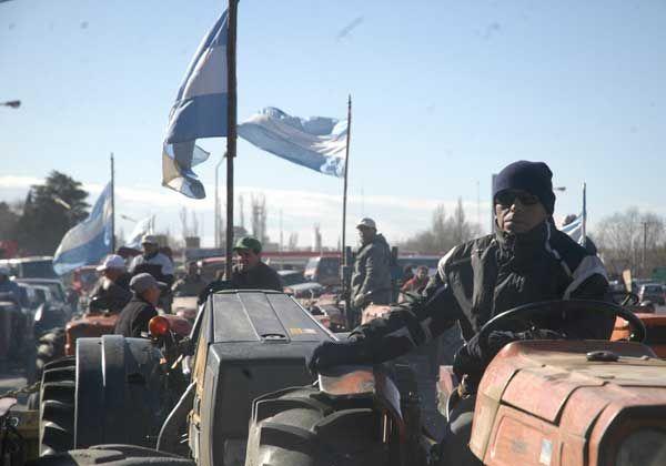 Chacareros se movilizarán hoy a pesar de la negativa de la Federación