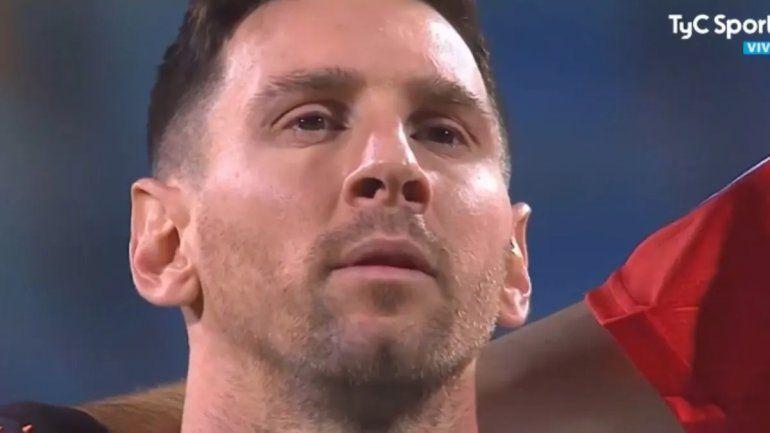 Messi cantó el himno como nunca y clavó un golazo: cuándo vuelve a jugar su Argentina