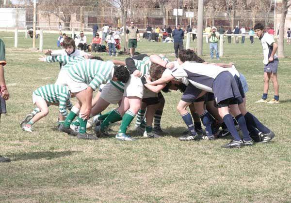 Más de 500 jugadores en el multitudinario de rugby